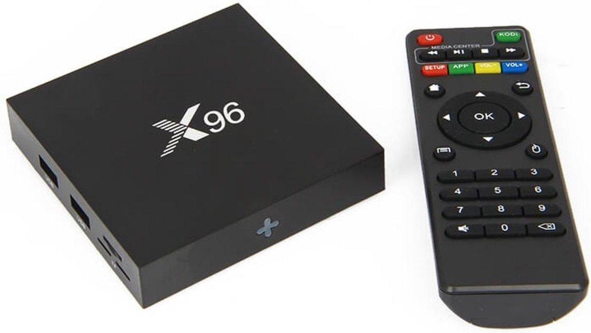 2017 X96 Android TV Box 4K Mediaspeler inclusief  MX3 Air Mouse
