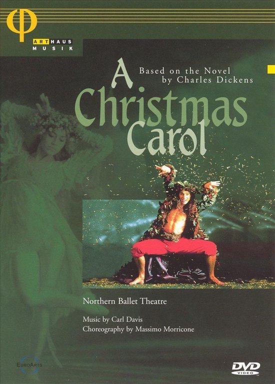 Cover van de film 'Christmas Carol'