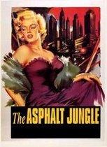 Marilyn Monroe poster-Hollywoodfilm- retro-Asphalt Jungle-vintage- 68 x 98 cm.