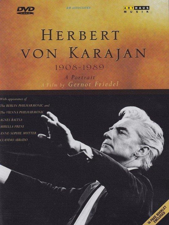 Cover van de film 'Herbert Von Karajan - A Portrait'