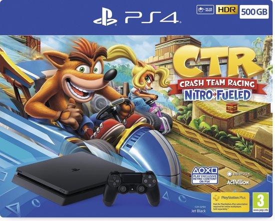 Afbeelding van Sony PlayStation 4 Slim console 500GB + Crash Team Racing bundel