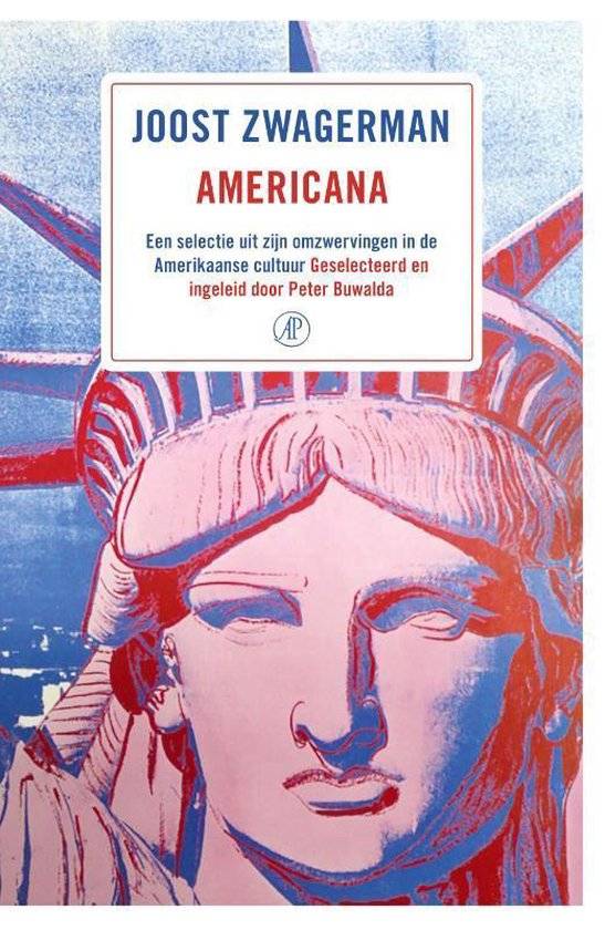 Boek cover Americana van Joost Zwagerman (Paperback)