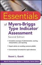 Boek cover Essentials of Myers-Briggs Type Indicator Assessment van Naomi L. Quenk