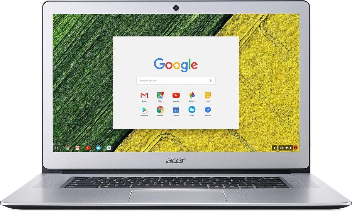 Acer Chromebook 15 CB515-1HT-P9M1 Zilver 39,6 cm (15.6'') 1920 x 1080 Pixels Intel® Pentium® N4200 8 GB LPDDR4-SDRAM 64 GB eMMC