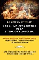 Las Mil Mejores Poesias de la Literatura Universal, Coleccion La Critica Literaria Por El Celebre Critico Literario Juan Bautista Bergua, Ediciones Ib