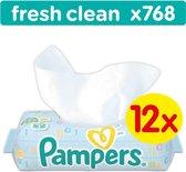 Pampers Fresh Clean Billendoekjes - 768 Stuks