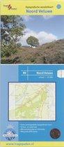 Trage Paden NV - Topografische Wandelkaart Noord-Veluwe