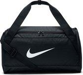 Nike Brasil Duffel Bag S Sporttas Unisex - Zwart