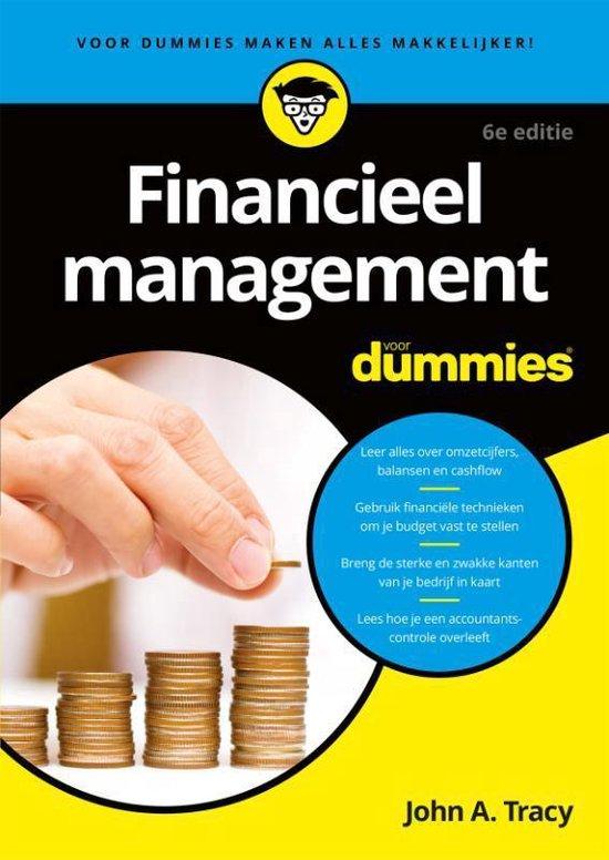 Financieel management voor Dummie - John A. Tracy  