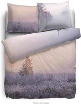 HNL Living Dekbedovertrek Merris - Blush roze 140 x 200/220