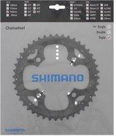 Shimano Deore FC-M590 Kettingblad voor Kettingbescherming Ring 9-speed, grey Uitvoering 48T