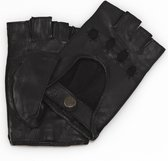 leren autohandschoenen dames model Whitsunday Color: Black, Size: 7.5