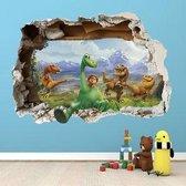 leuk voor een Disney The Good Dinosaur 3D kinder kamer  Muursticker
