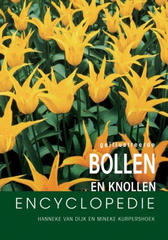 Boek cover Geillustreerde bloembollen encyclopedie van H. van Dijk (Hardcover)