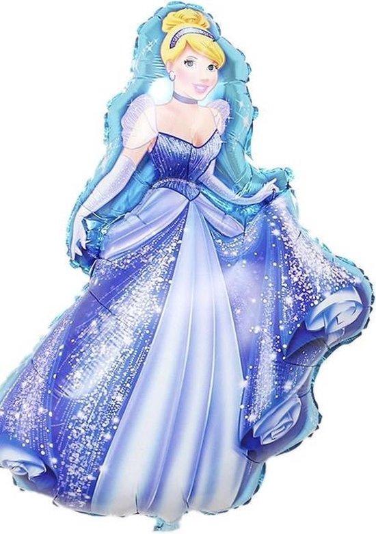 Assepoester - Disney Prinsessen Ballon - Kinderfeest - Meisje - Verjaardag - Prinsessen Feestje - Babyshower