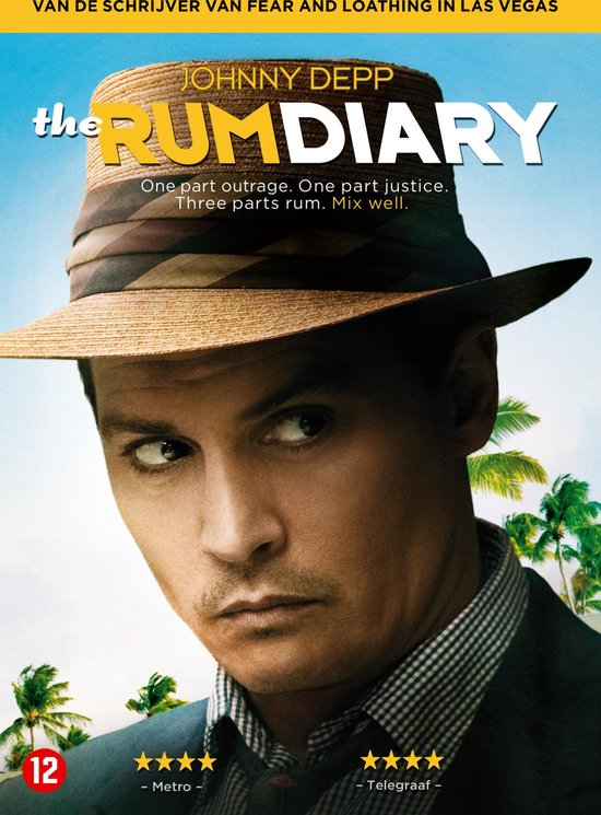 Cover van de film 'The Rum Diary'