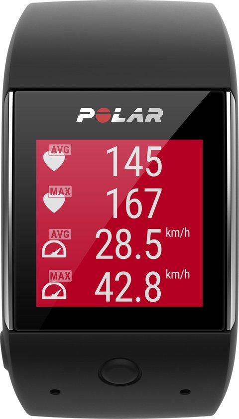 Polar M600 - Hardloophorloge - GPS - Zwart