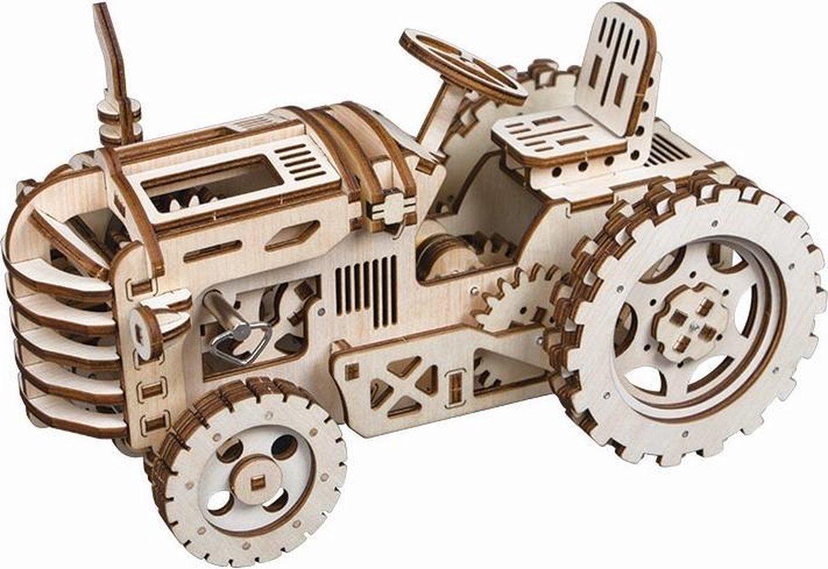 Robotime Tractor LK401 - Houten modelbouw