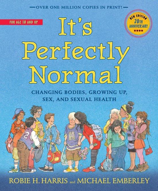 Boek cover Its Perfectly Normal van Robie H Harris (Hardcover)