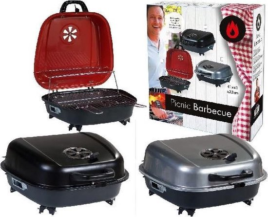 Van der Meulen Bbq Barbecue Koffer 41x42cm - Basic