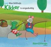 Boek cover Kikker is ongeduldig van Max Velthuijs