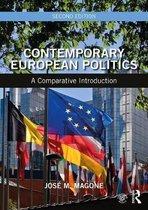 Boek cover Contemporary European Politics van Jose M. Magone