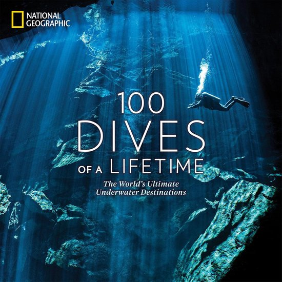 Boek cover 100 Dives of a Lifetime van Carrie Miller (Hardcover)