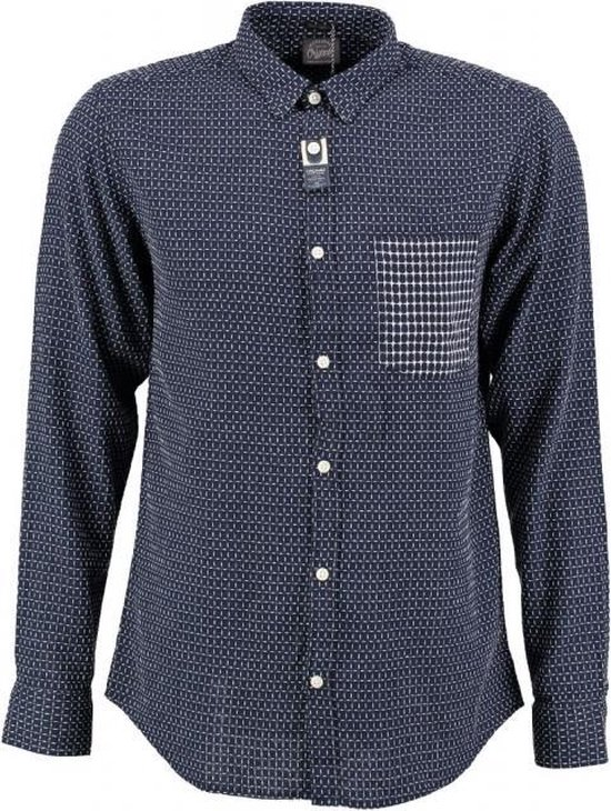 Jack & jones slim fit reliëf overhemd - Maat S