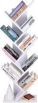 Vasagle Vintage Boekenkast - Boekenplanken - Opbergruimte Voor Boeken - Kast