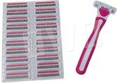 OWO - Scheermesjes wegwerp set met soft touch - 21 stuks