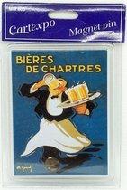 Koelkast Magneet Bieres De Chartres