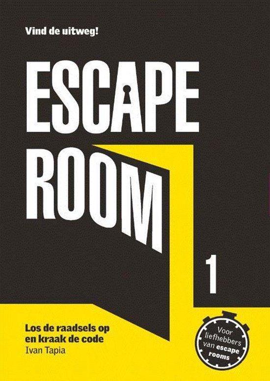 Boek cover Escape Room 1 van Ivan Tapia (Paperback)