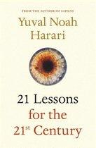 Boek cover 21 Lessons for the 21st Century van Yuval Noah Harari