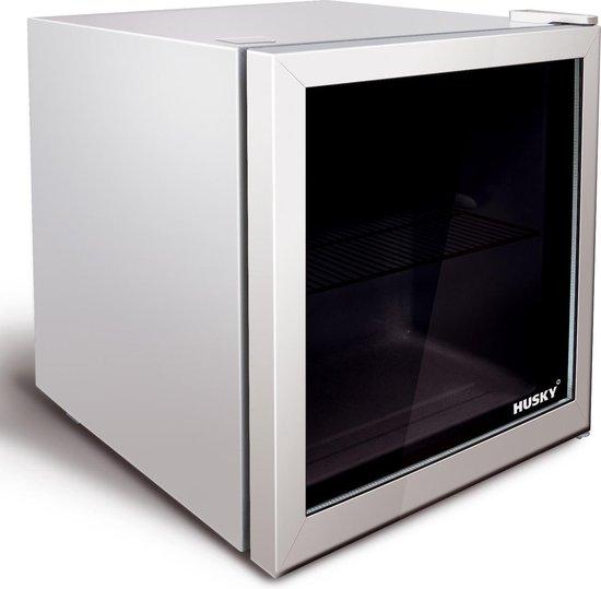 Koelkast: Husky KK50-281-NL-HU - Mini Koelkast Glazen Deur, van het merk Husky