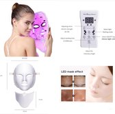 Led Gezichtsmasker Anti Rimpel Huidverzorging – Lichttherapie – Litteken...
