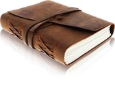 Grayham Notitieboek 100% Buffel Leer - 200 Pagina's - Gelijnd