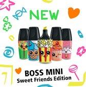 STABILO BOSS MINI Sweet Friends Edition - Blister 5 Stuks
