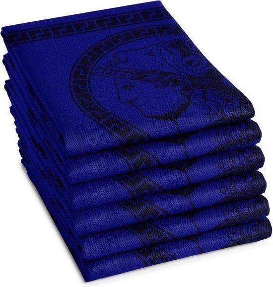 DDDDD Theedoek Minerva Blue (6 stuks)