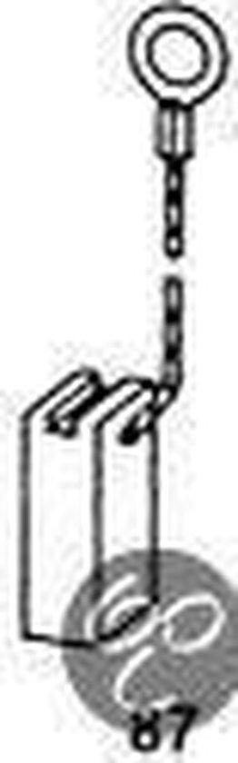 Koolborstel-set 0422 voor Casals handgereedschap