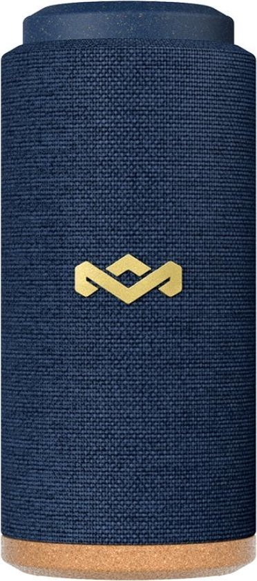 House of Marley No Bounds Sport - bluetooth speaker waterproof - bluetooth speakers - duurzaamheid - blauw