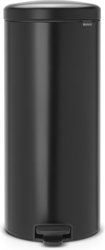 Brabantia newIcon Prullenbak - 30 l - Matt Black