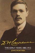 Boek cover D. H. Lawrence van John Worthen