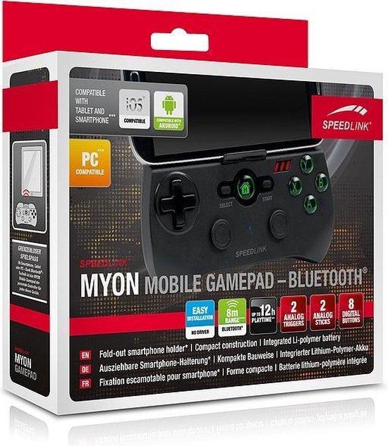 Speedlink MYON Bluetooth Gamepad Android Zwart - Speedlink