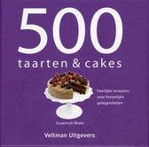 Boek cover 500 taarten & cakes van Susannah Blake (Hardcover)
