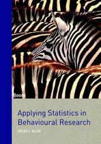 Applying statistics in behavioural research