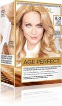 L'Oréal Paris Excellence Age Perfect 8.31 - Licht Goud Asblond - Haarverf