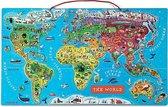 Janod Puzzel - Magnetic World - Engels