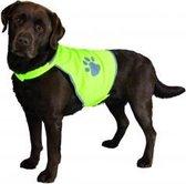 Trixie Veiligheidsjasje Safer Life Fluo Hond M - Kleding - 68 cm - Geel