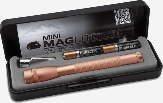 MagLite Mini 2AAA - LED Rose Gold (Collectors item)