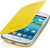 Samsung Flip Cover voor de Samsung Galaxy S3 Mini - Geel